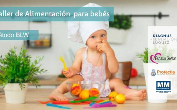 Taller práctico de alimentación para bebés – Método BLW